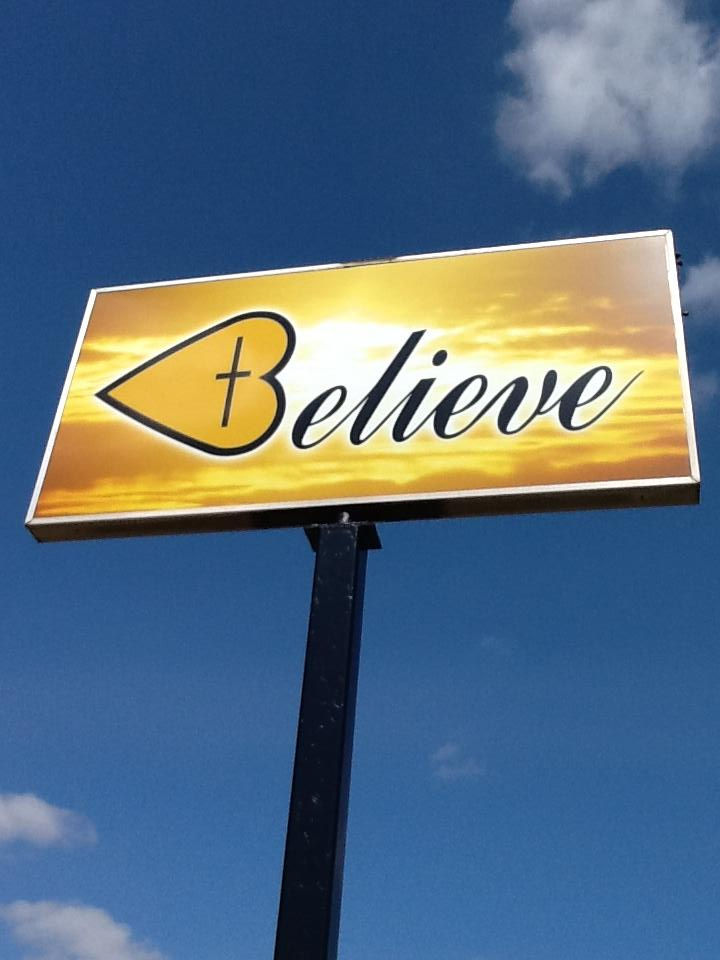 Believe - Sign